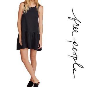 Free People Easy Street Pullover Mini Dress L
